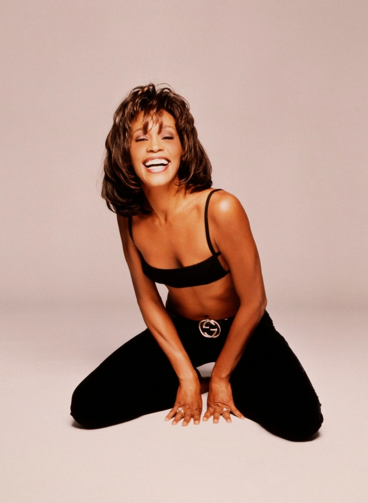 Whitney Houston Laughing